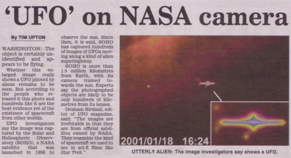 NASA / UFO's