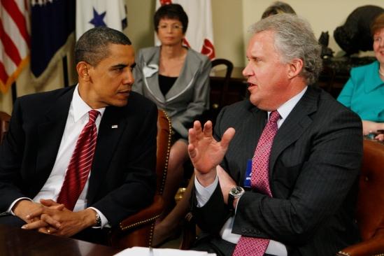Barack Obama, Jeffrey Immelt