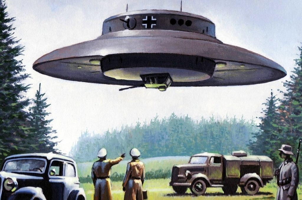 Hitler had crashed UFO 1937