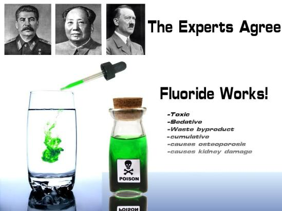 Fluoride kills you