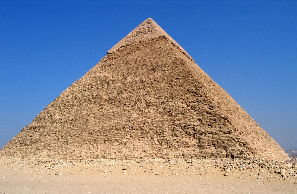 Egyptian Military guarding secret at Giza Pyramid