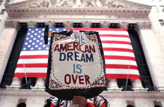 Debt is drowning the American Dream