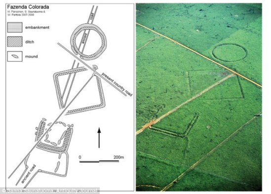 Amazon Civilization Revealed After Forest Cleared