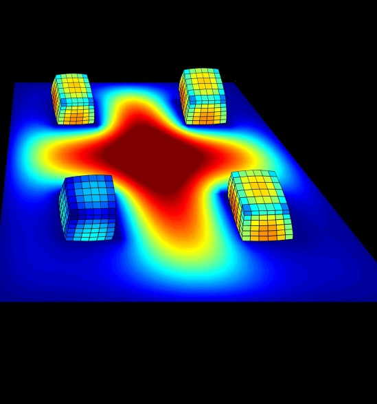 This study demonstrates the ability of a synthetic material to actually 'talk to itself'
