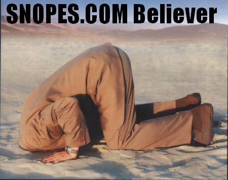 snopes is a HOAX