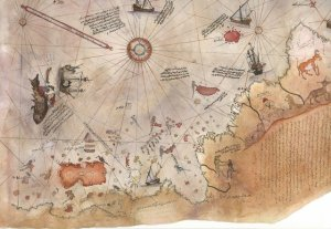 500 Year Old Map  Shatters Official Story