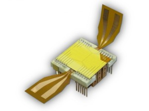 quantum chip Hot and cold at the same time