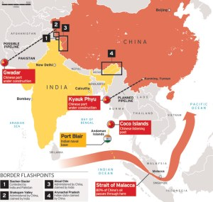 China and India sign business deals worth more than $22bn